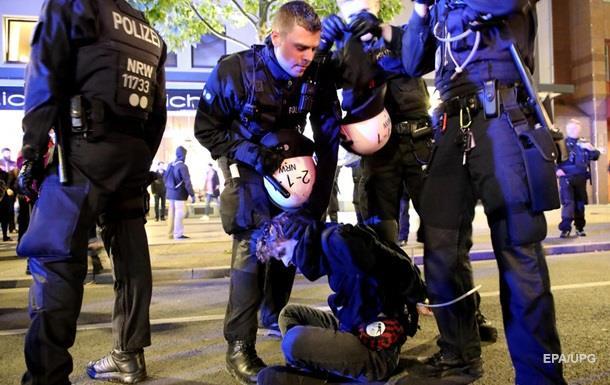 В Германии разгромили турецкие кафе и магазины